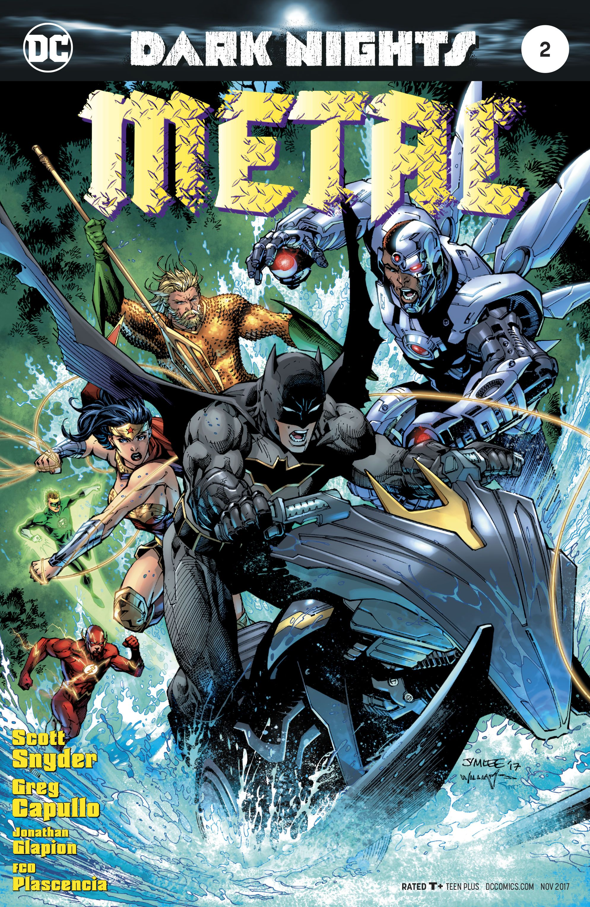 Episode 319: Spotlight on DC Comics – Dark Nights: Metal #2